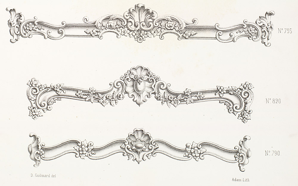 Cornices and Moldings,  Image number:SIL12-2-262d