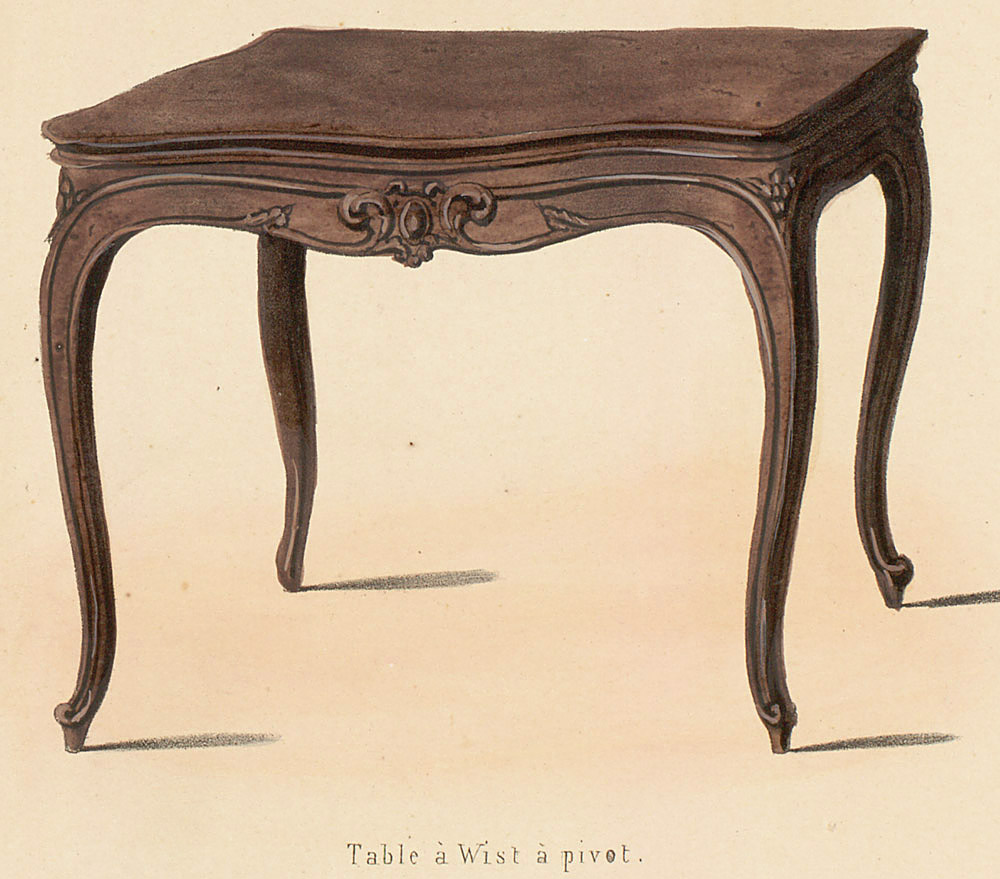 Tables (support furniture),  Image number:SIL12-2-051e