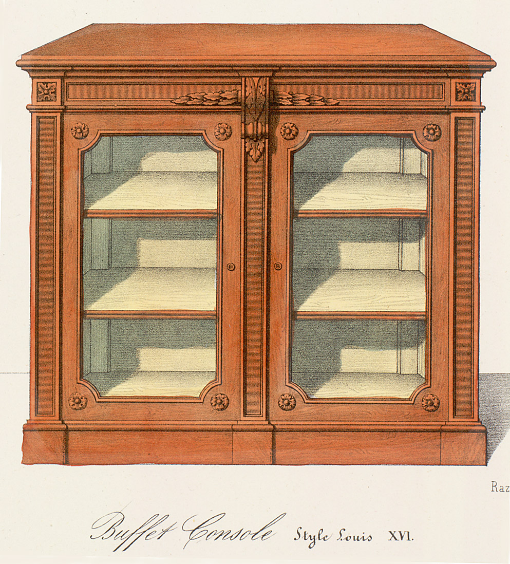 Cabinets (case furniture),  Image number:SIL12-2-249e
