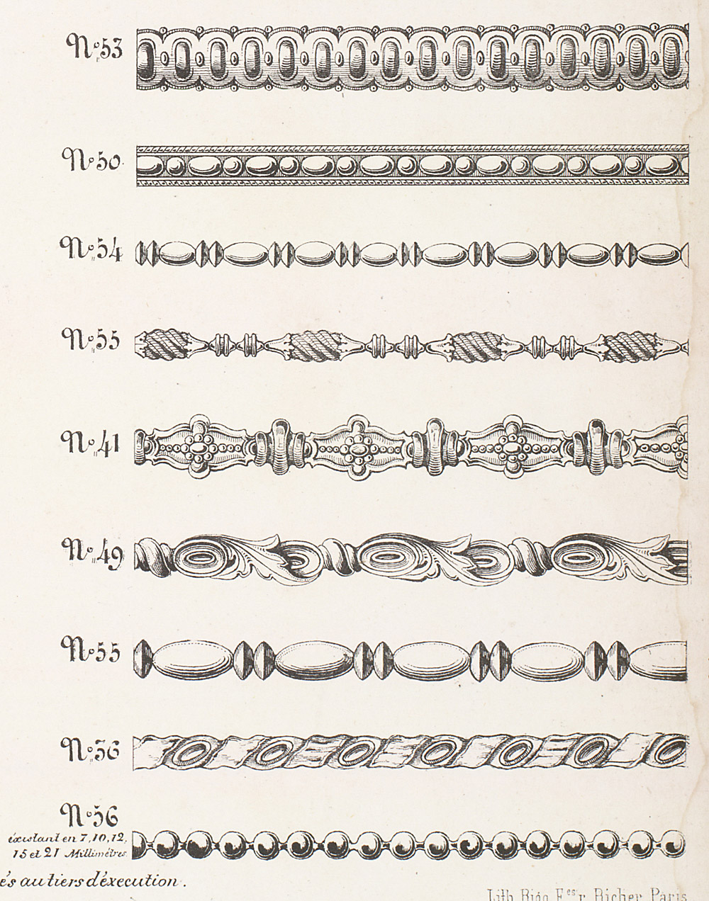 Cornices and Moldings,  Image number:SIL12-2-324e