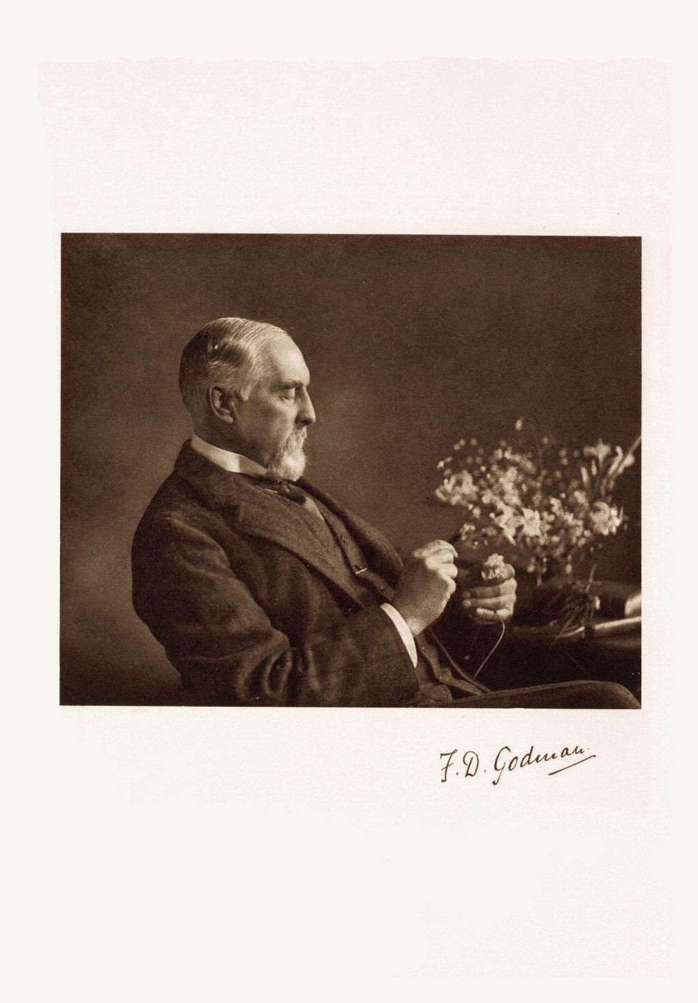 Plate I: Portrait of F.D. Godman,  Image number:bca_01_00_00_015