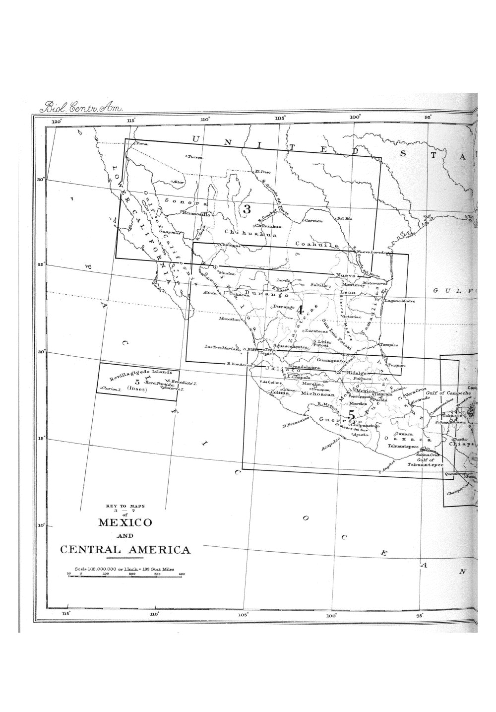 Maps of Central America,  Image number:bca_01_00_00_174
