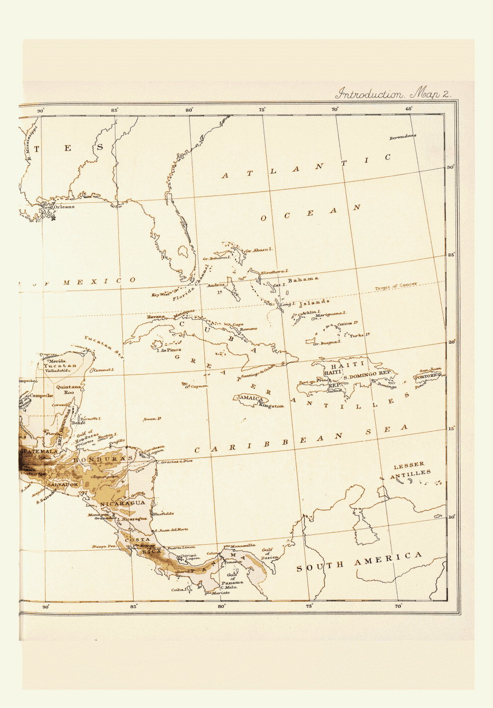 Maps of Central America,  Image number:bca_01_00_00_179