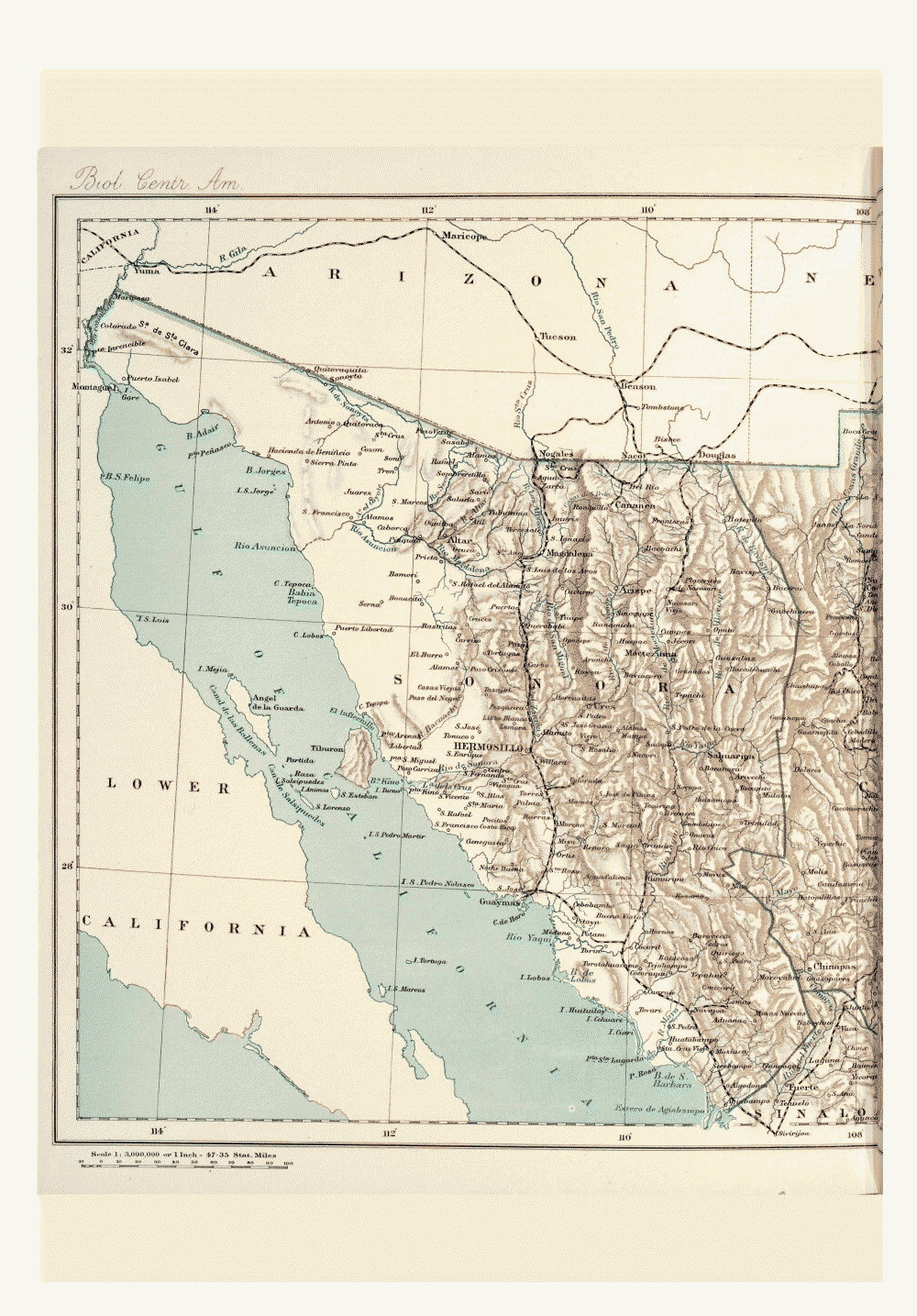 Maps of Central America,  Image number:bca_01_00_00_182