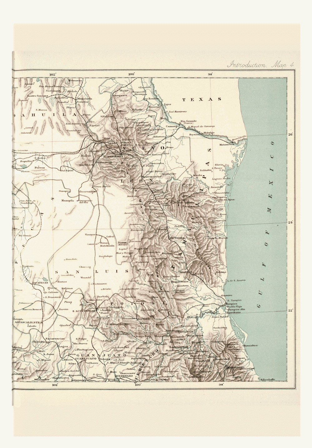 Maps of Central America,  Image number:bca_01_00_00_187