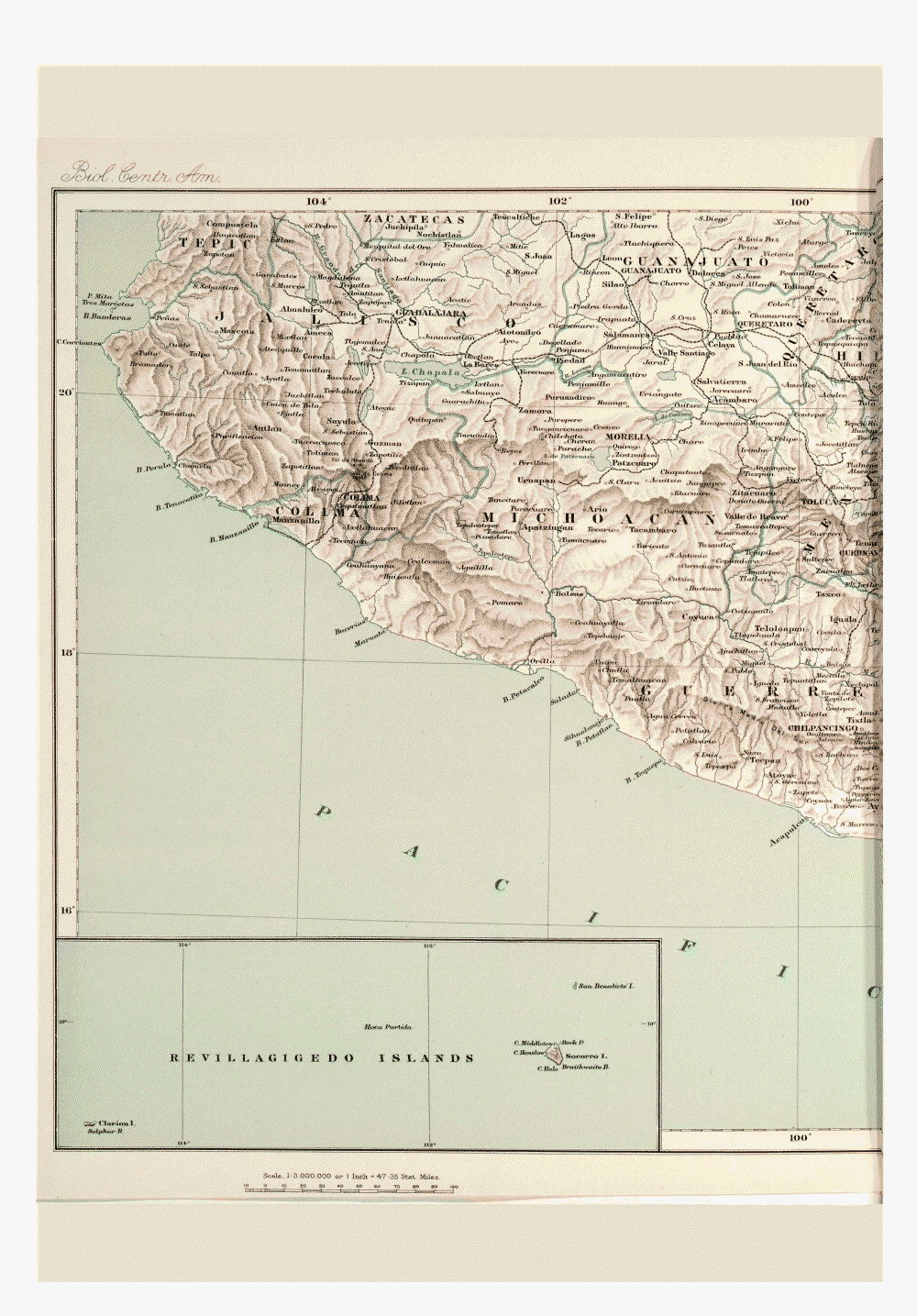 Maps of Central America,  Image number:bca_01_00_00_190