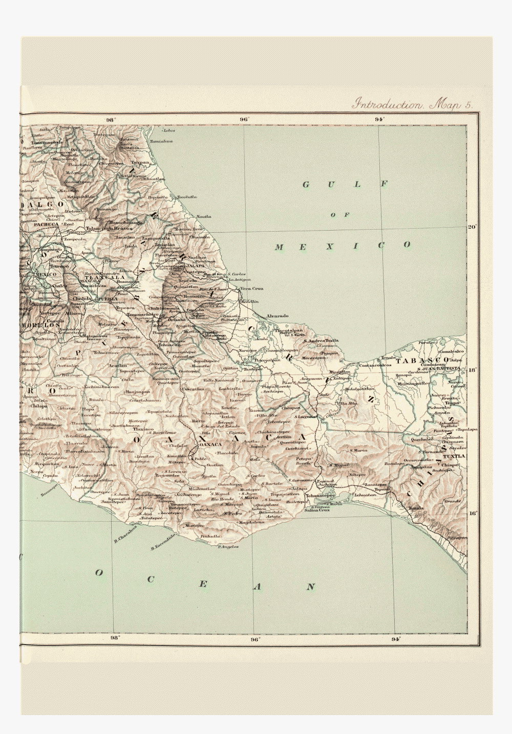 Maps of Central America,  Image number:bca_01_00_00_191