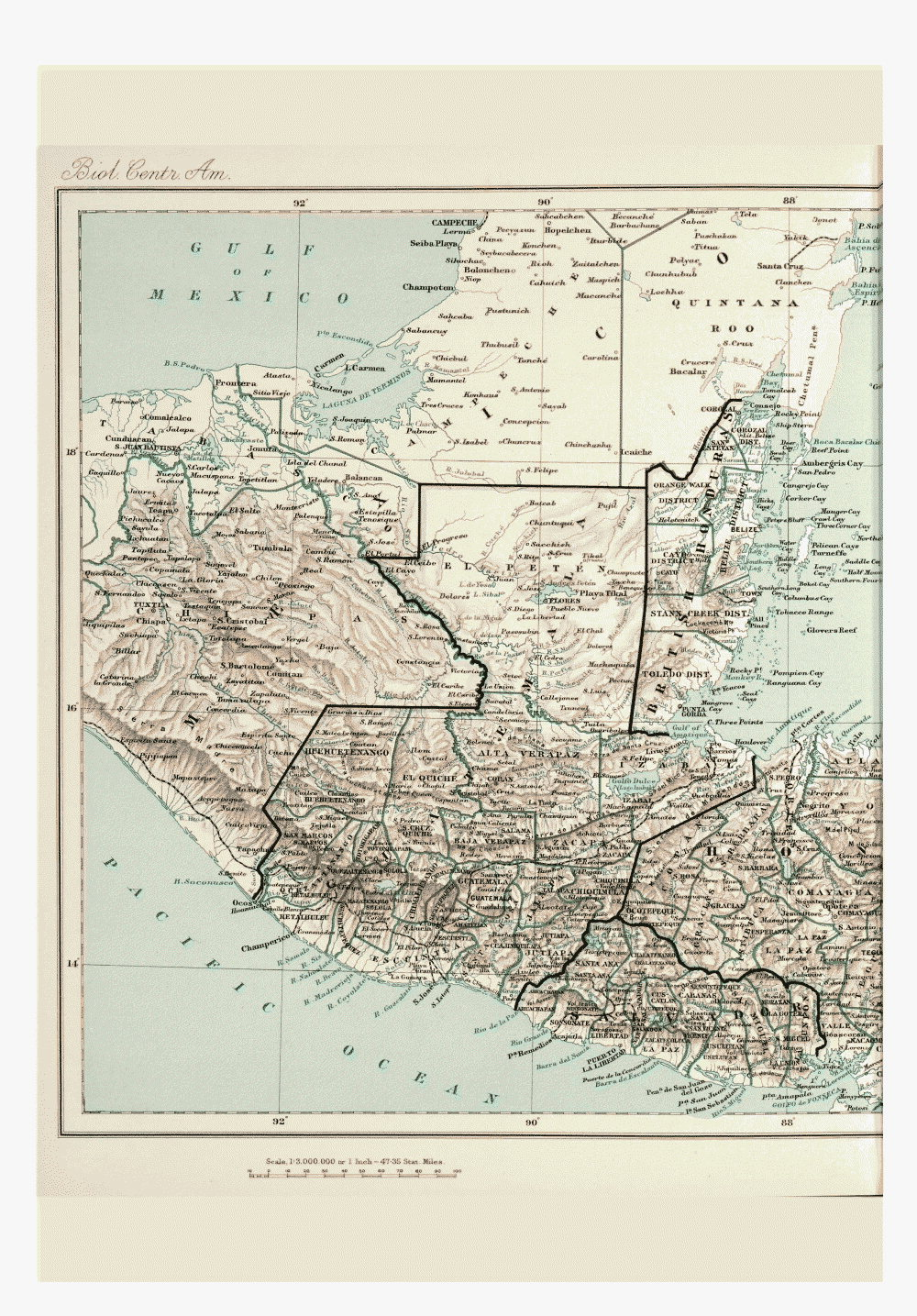Maps of Central America,  Image number:bca_01_00_00_194
