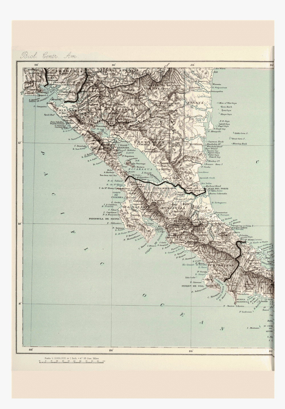 Maps of Central America,  Image number:bca_01_00_00_198