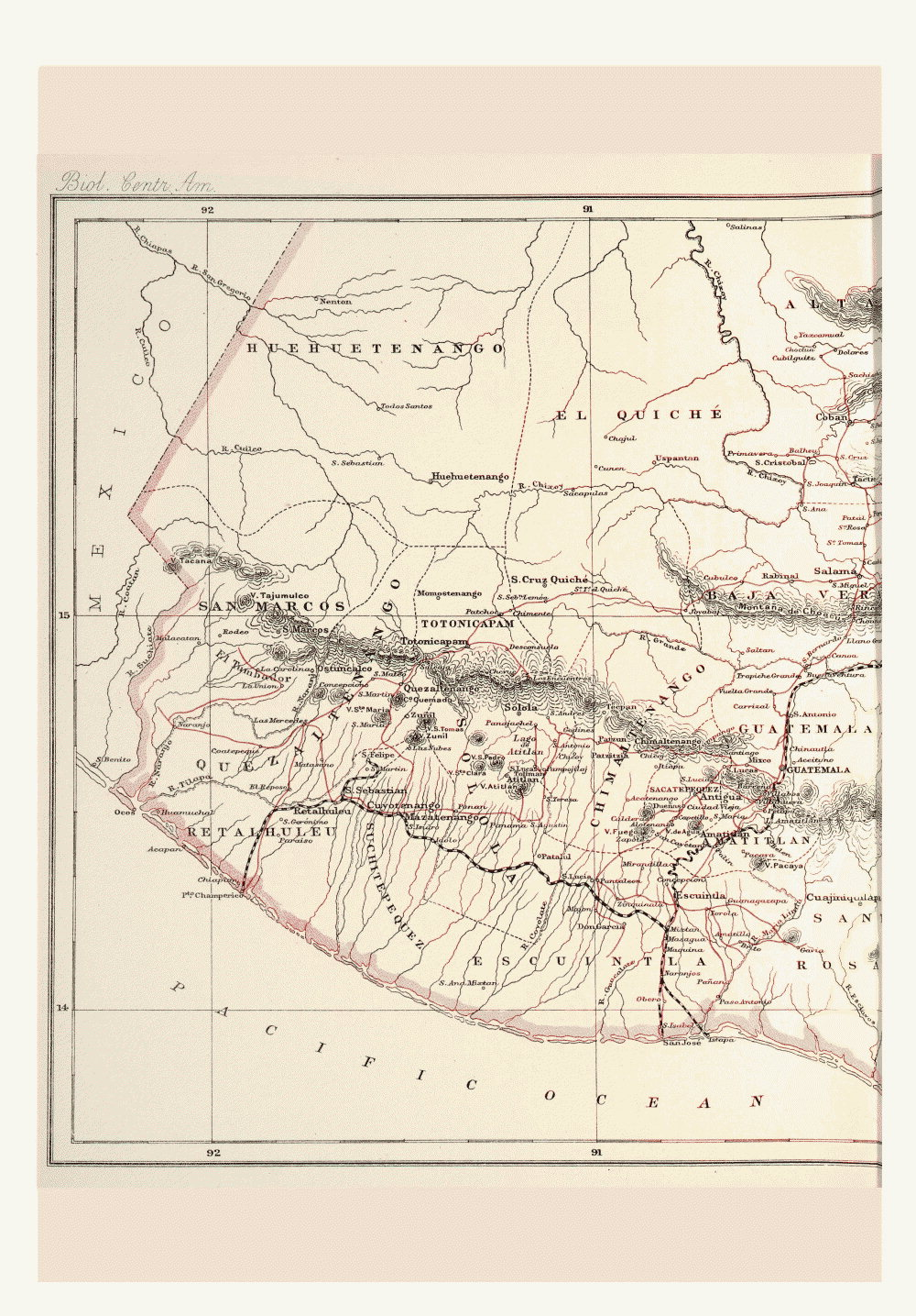 Maps of Central America,  Image number:bca_01_00_00_202