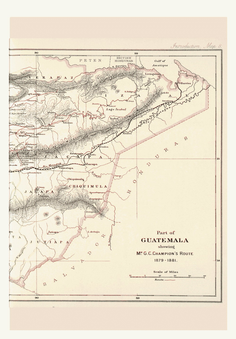 Maps of Central America,  Image number:bca_01_00_00_203