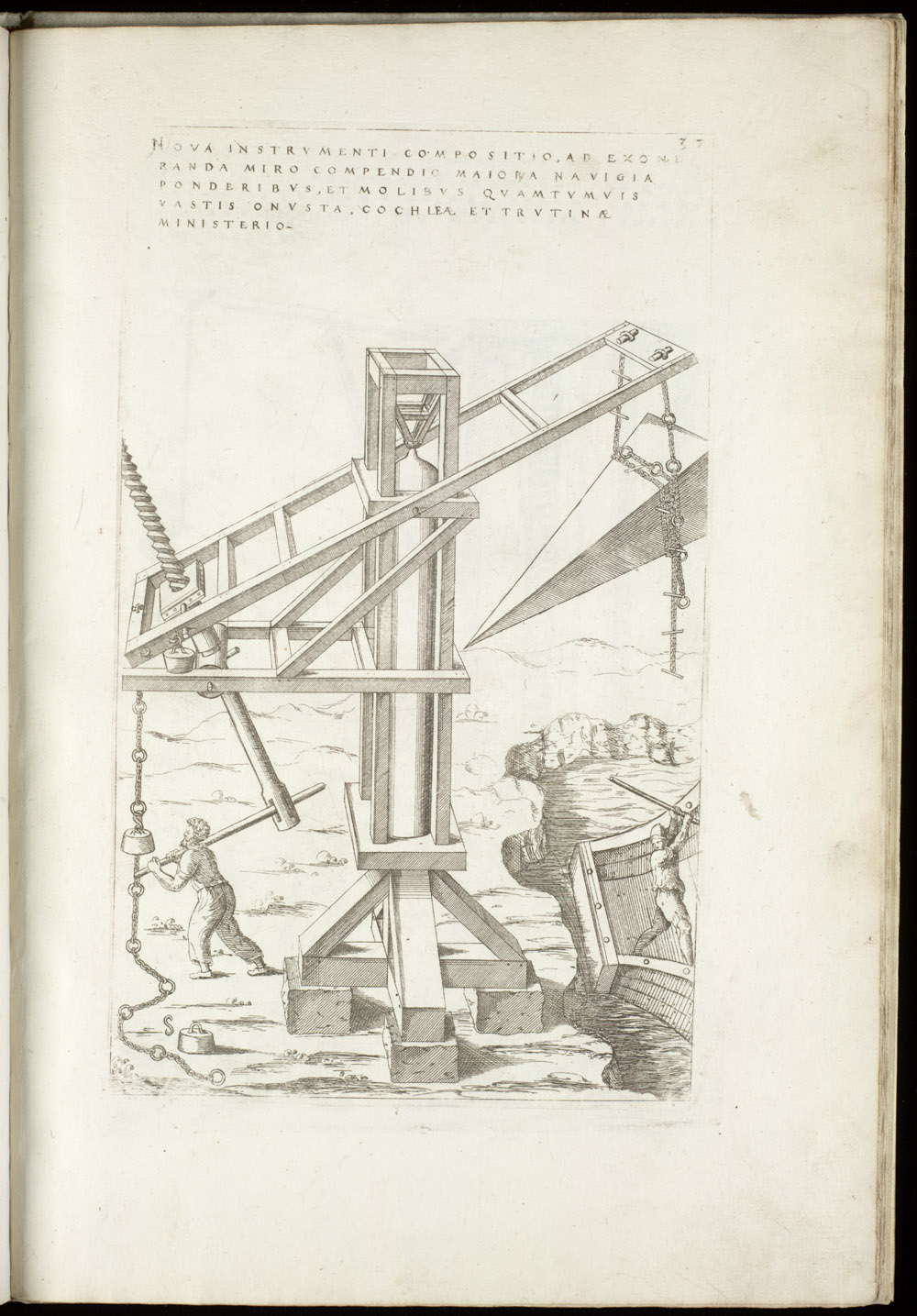 Plate 37 [Cargo crane],  Image number:SIL4-2-107a