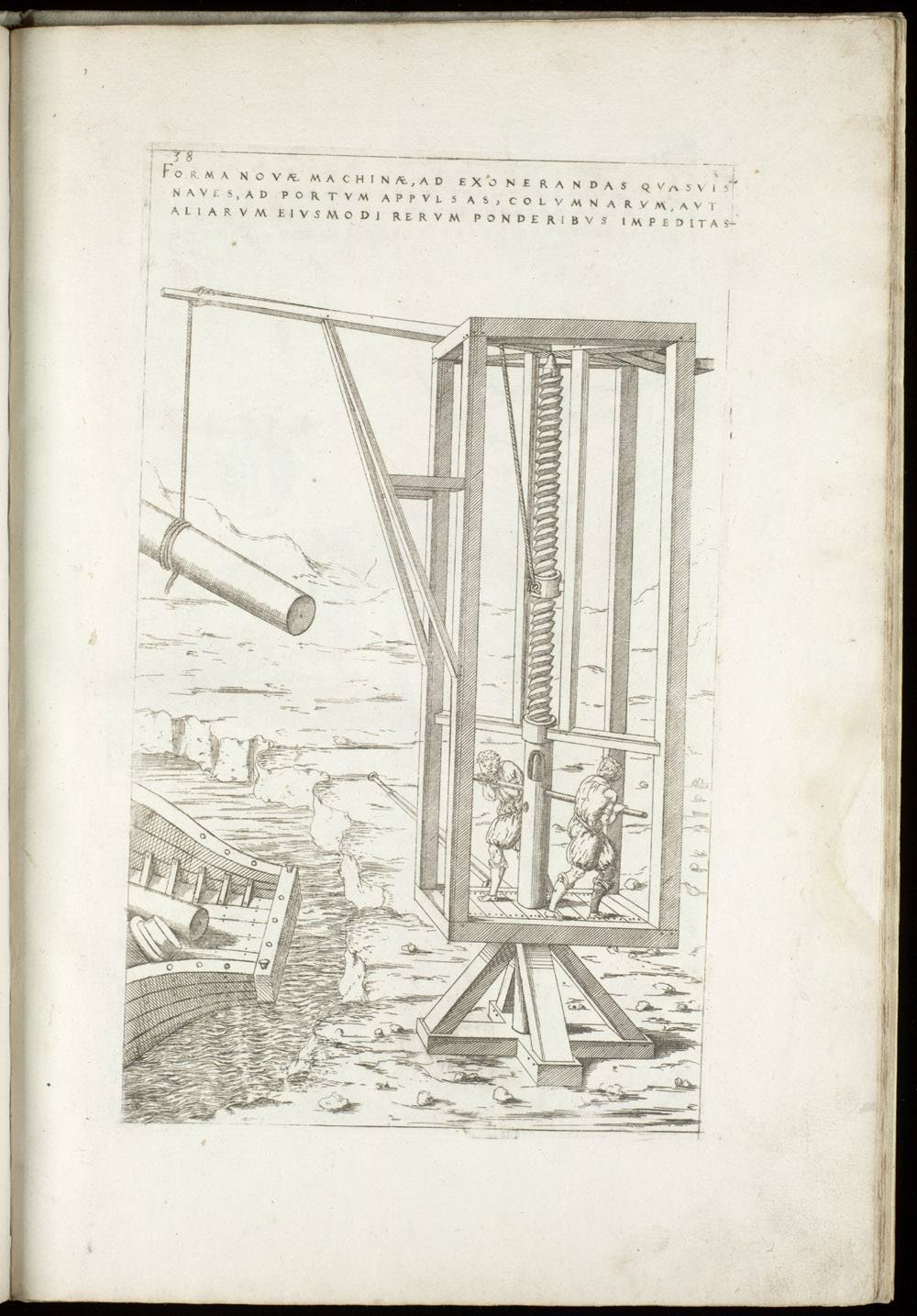 Plate 38 [Cargo crane],  Image number:SIL4-2-109a