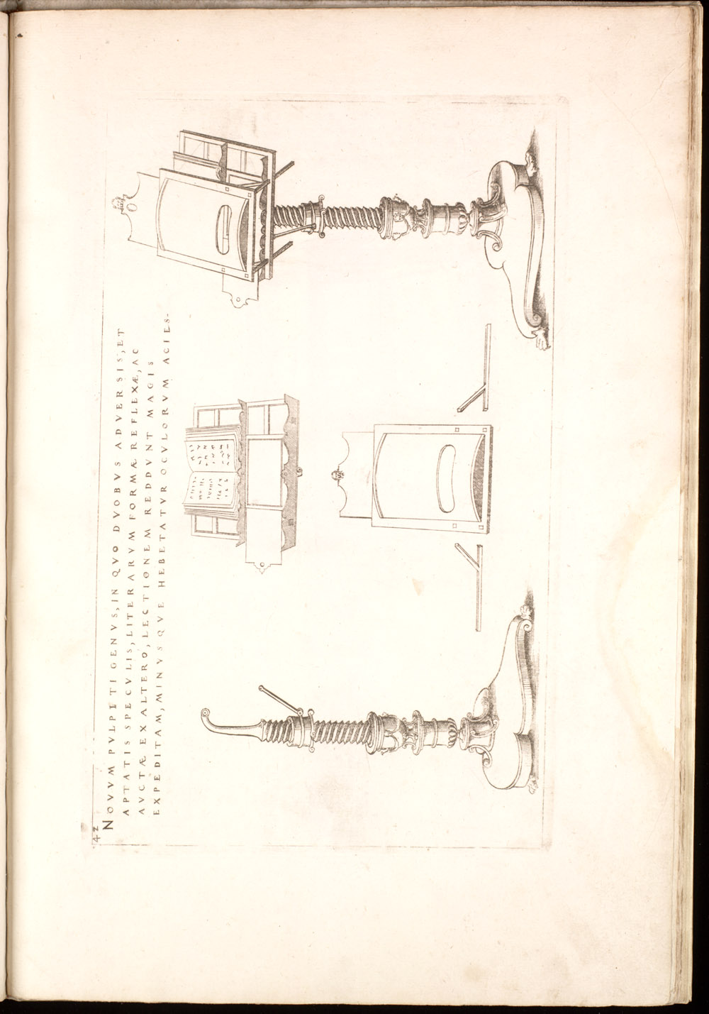 Plate 42 [Magnifying pulpit],  Image number:SIL4-2-117a