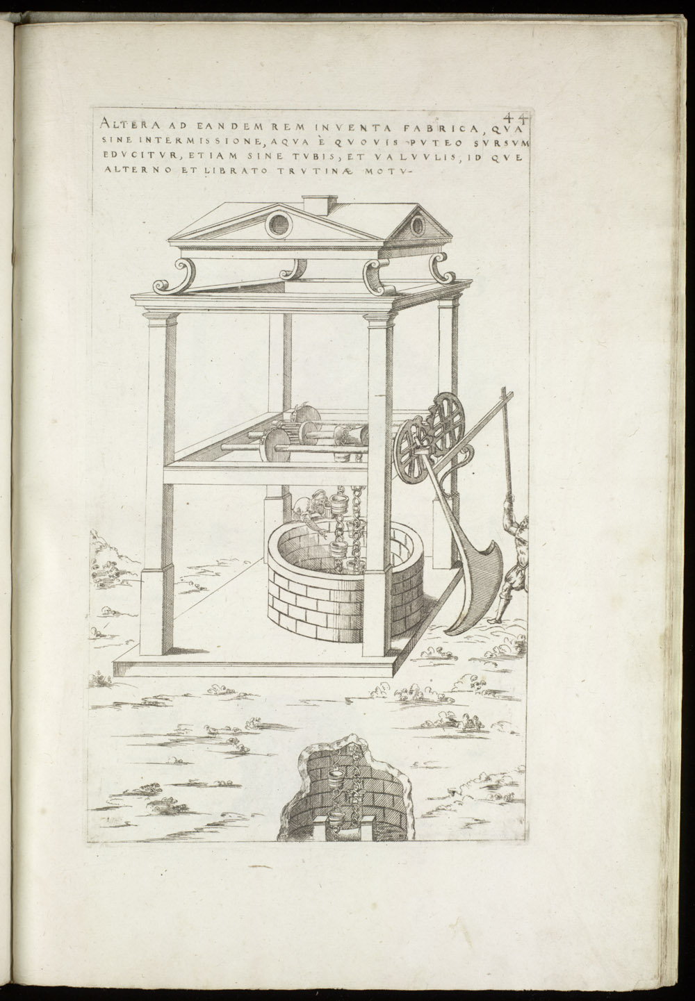 Plate 44 [Endless chain of well buckets],  Image number:SIL4-2-121a