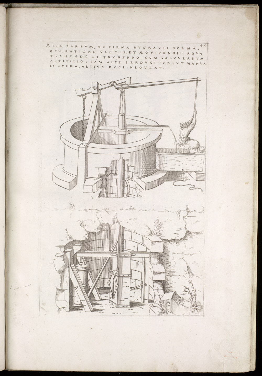 Plate 49 [Lever-operated pump],  Image number:SIL4-2-131a