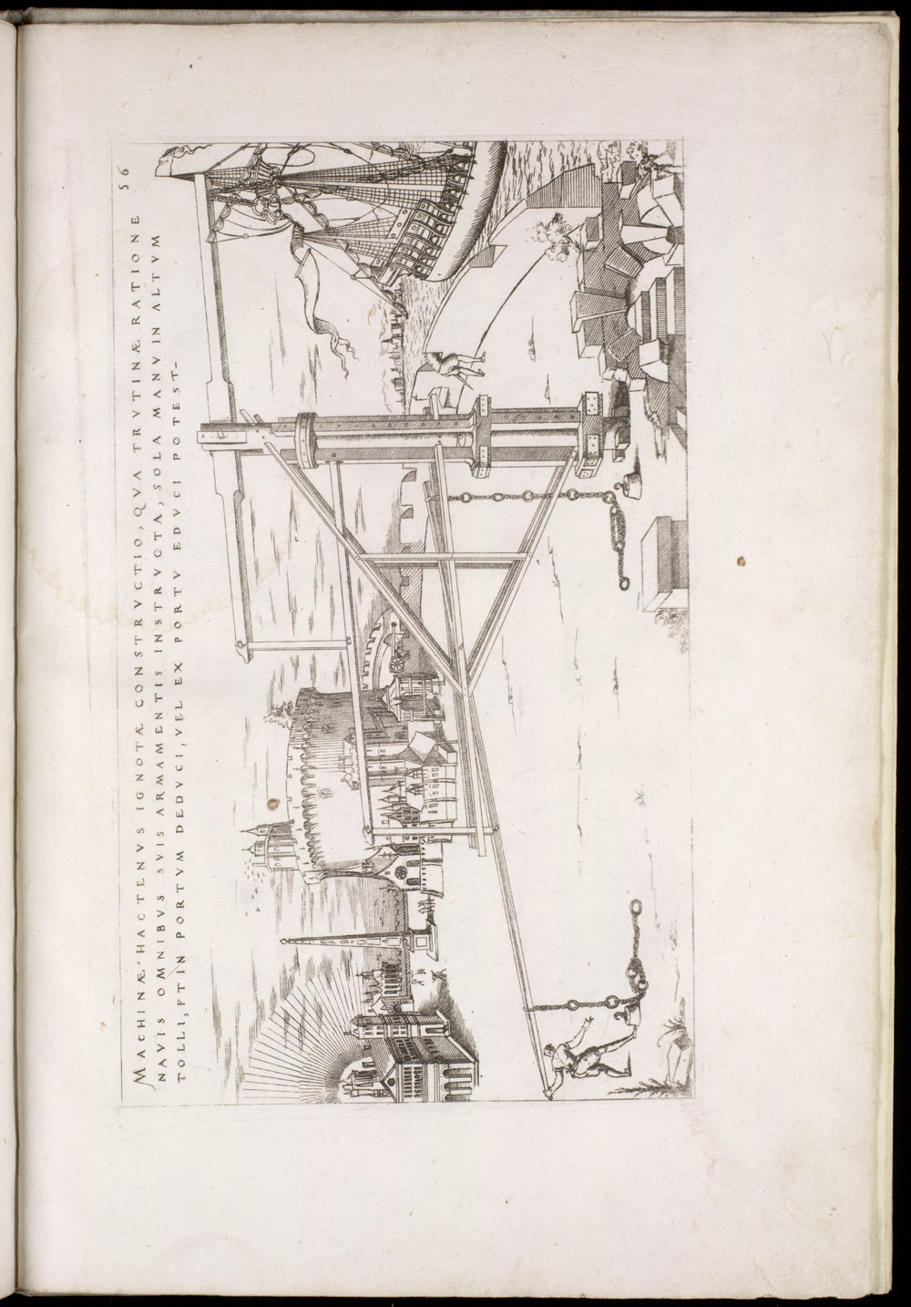 Plate 56 [Cargo crane],  Image number:SIL4-2-145a