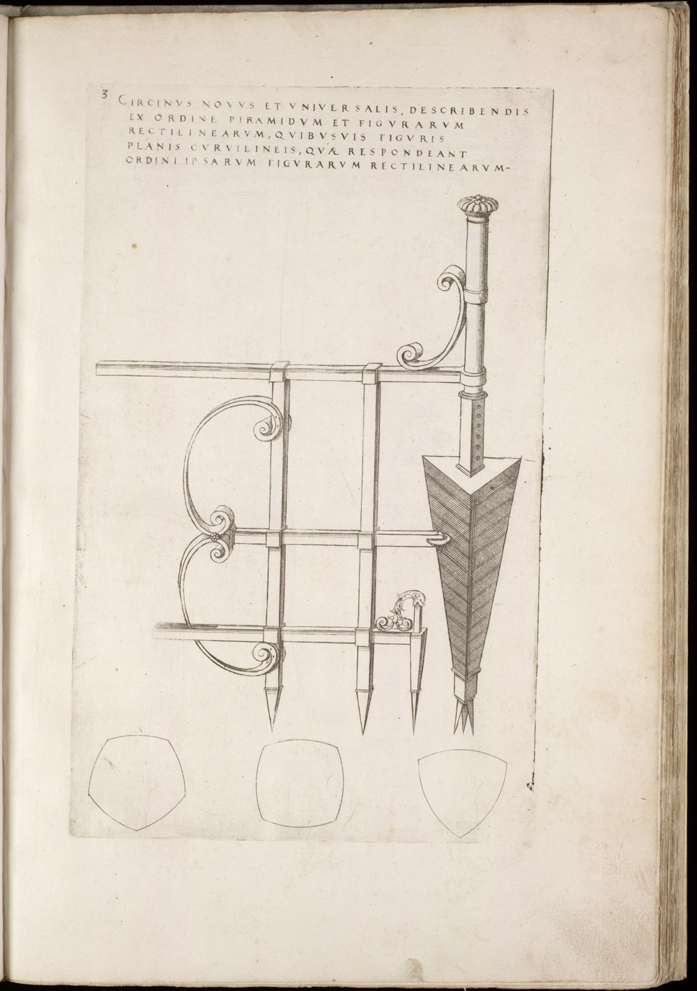 Plate 3 [Drawing compass],  Image number:SIL4-2-39a