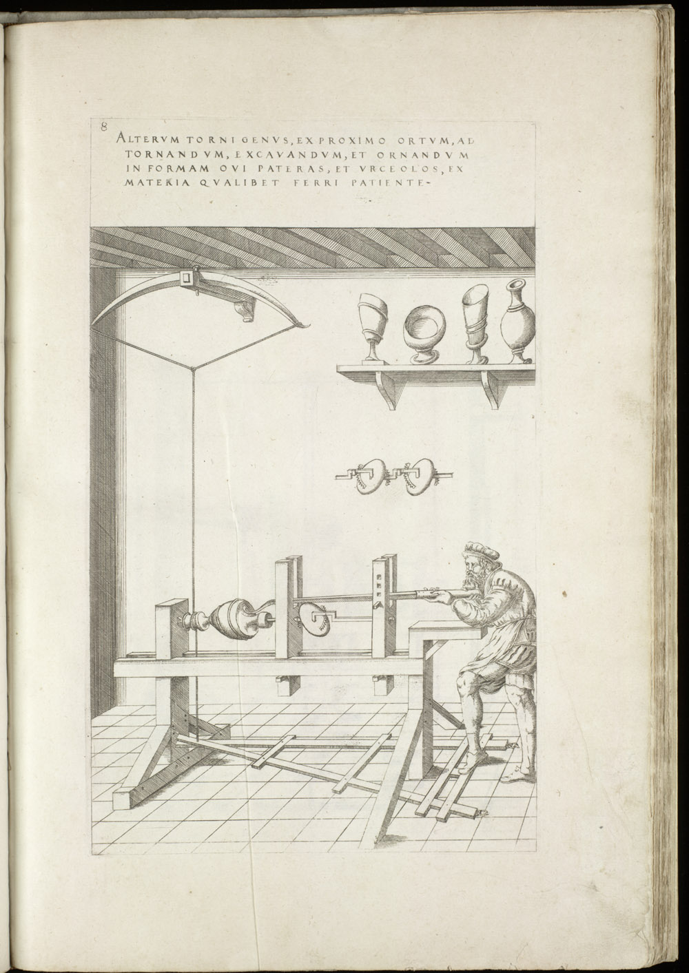 Plate 8 [Lathe],  Image number:SIL4-2-49a