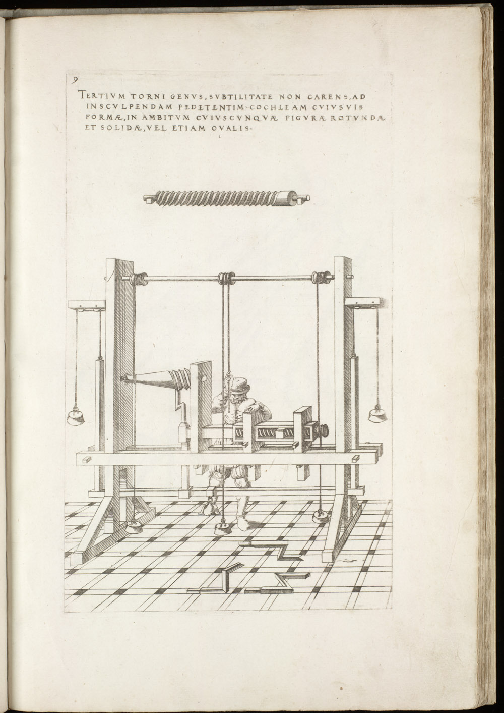 Plate 9 [Lathe],  Image number:SIL4-2-51a