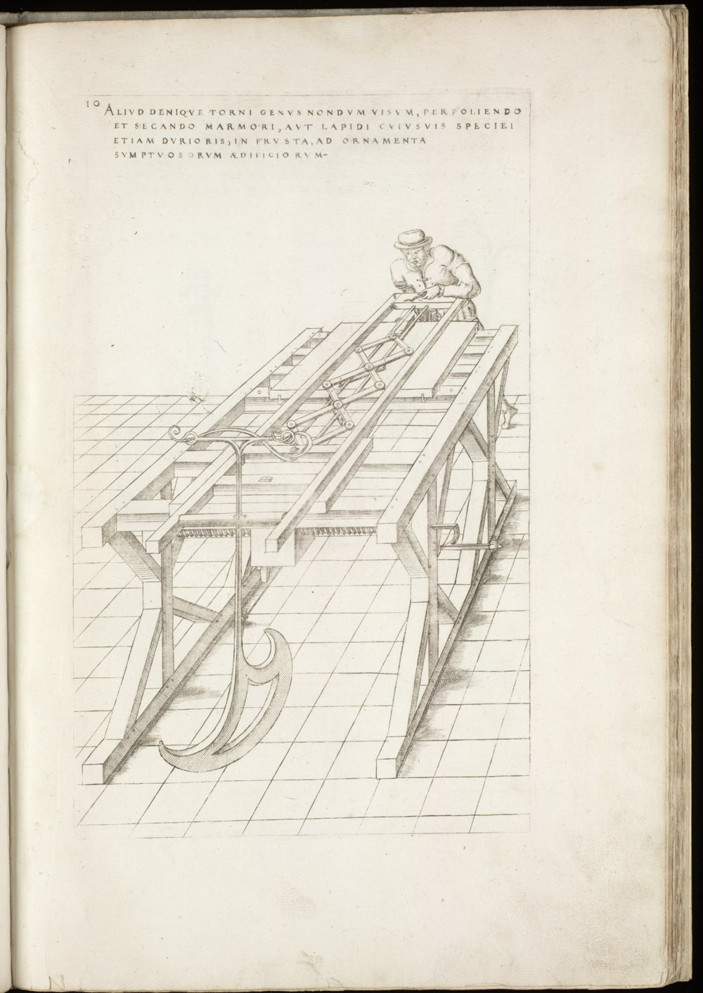 Plate 10 [Stone and marble cutter],  Image number:SIL4-2-53a