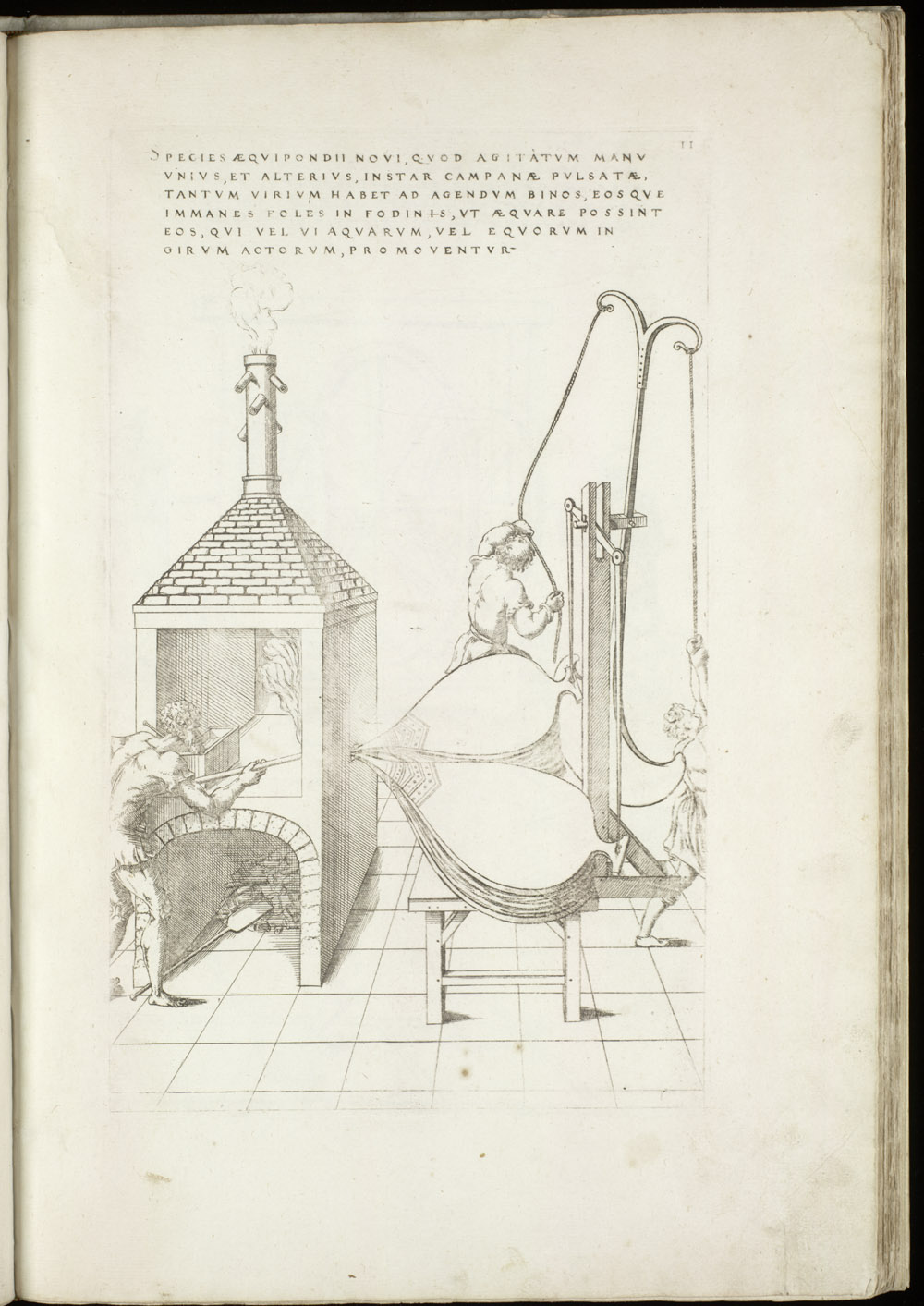 Plate 11 [Bellows and furnace],  Image number:SIL4-2-55a