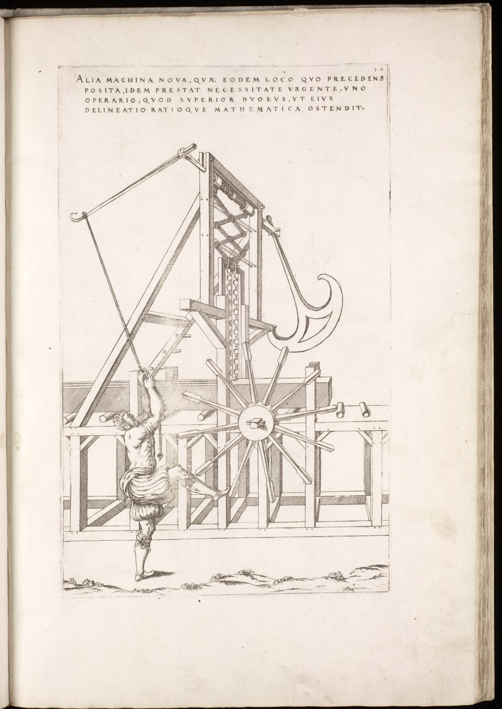 Plate 14 [Hand-powered sawmill],  Image number:SIL4-2-61a
