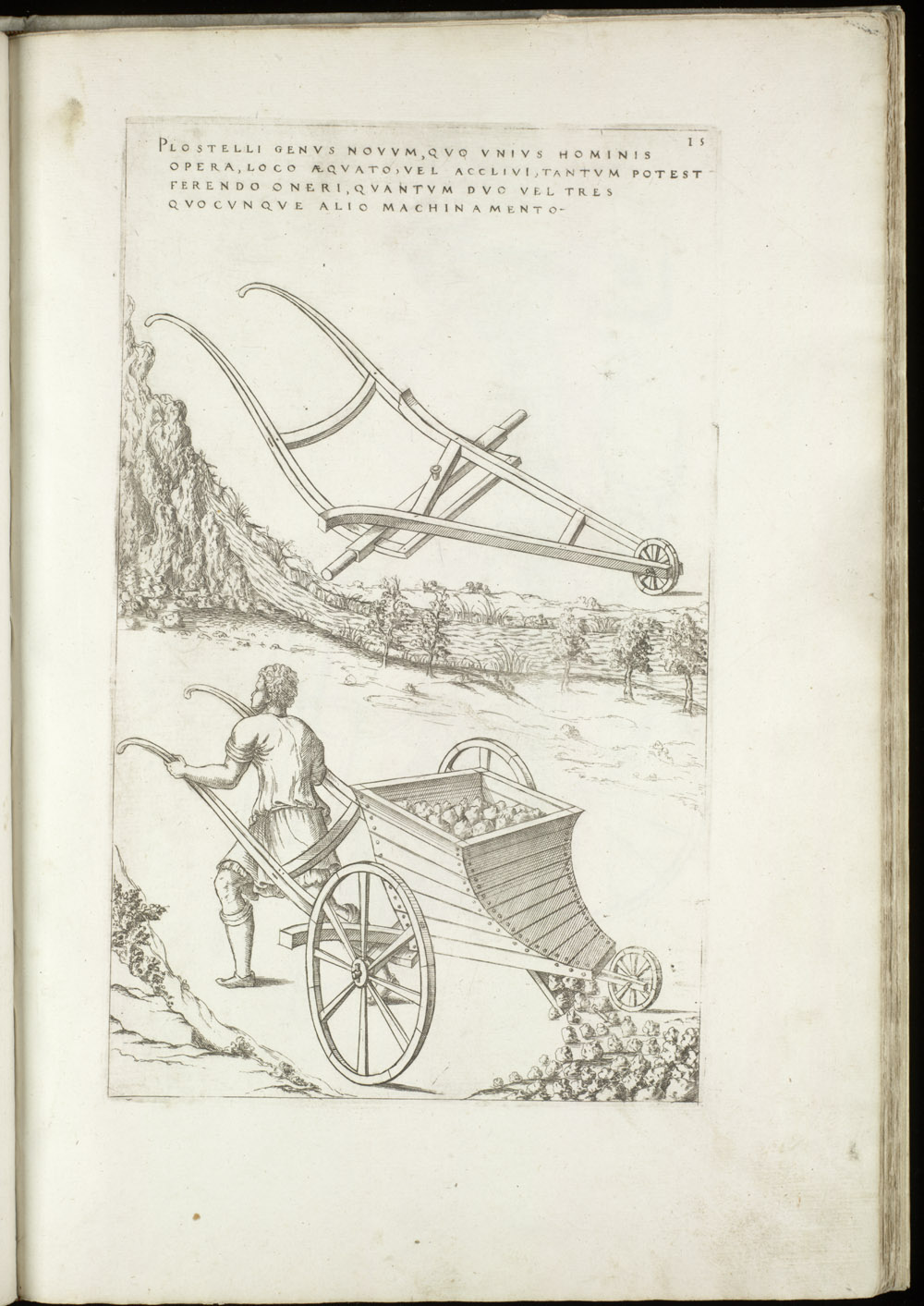 Plate 15 [Handcart],  Image number:SIL4-2-63a
