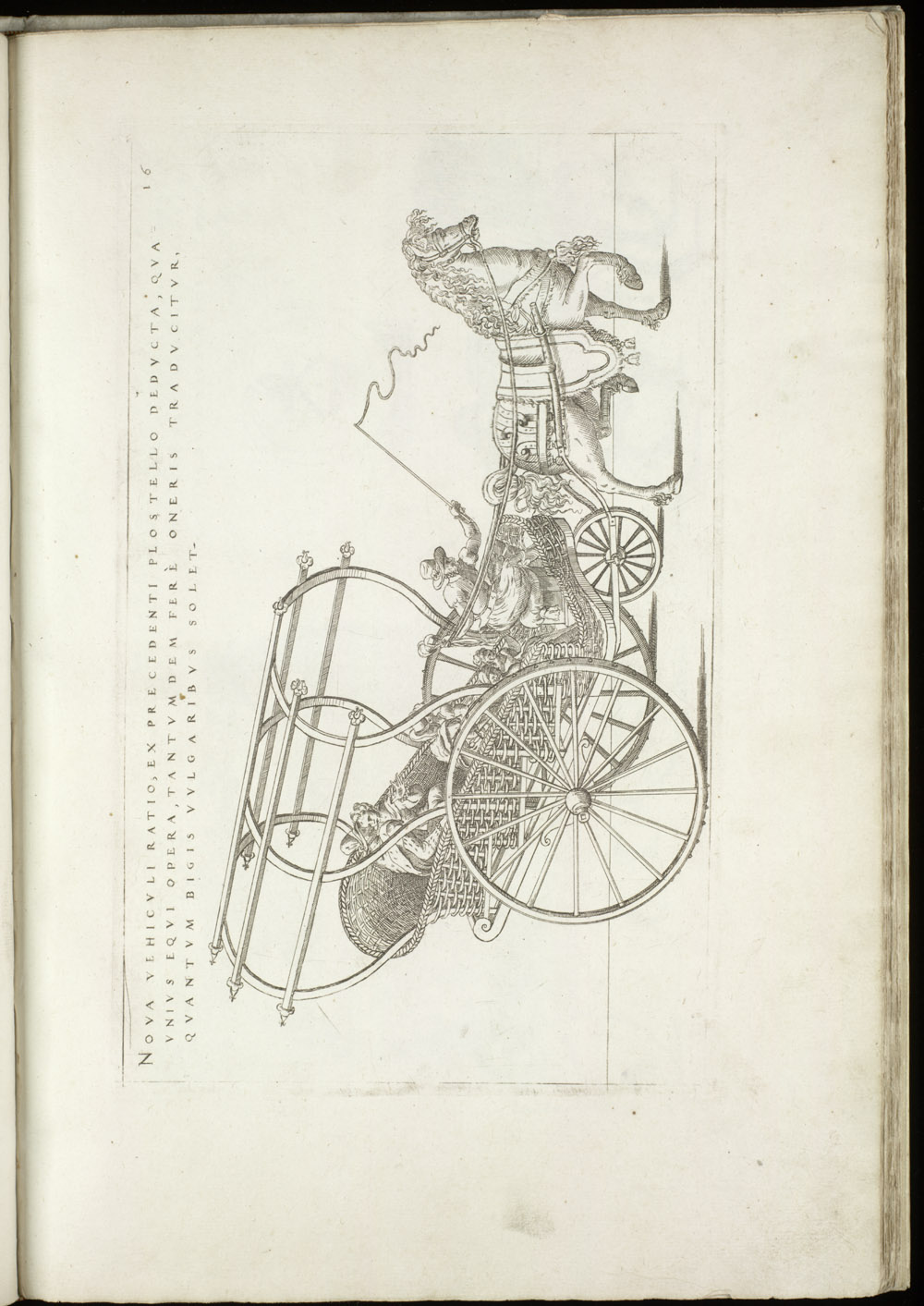 Plate 16 [Horse-drawn Carriage],  Image number:SIL4-2-65a
