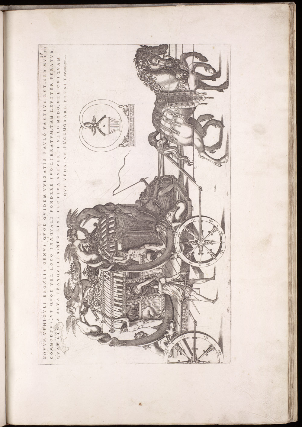 Plate 17 [Suspended horse-drawn carriage],  Image number:SIL4-2-67a