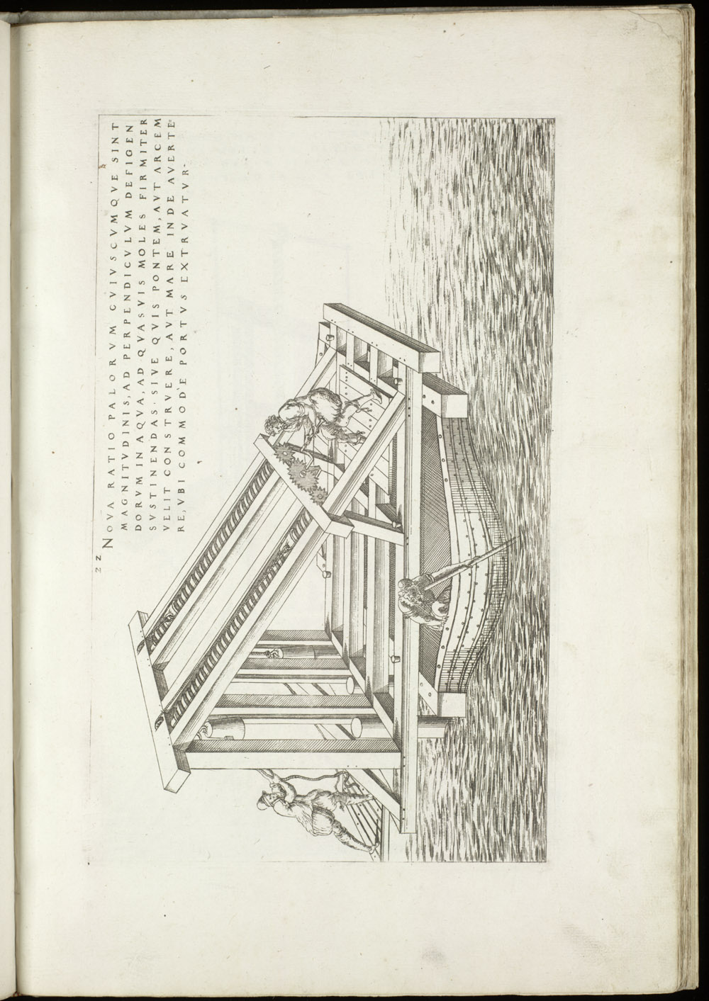 Plate 22 [Vertical pile driver],  Image number:SIL4-2-77a