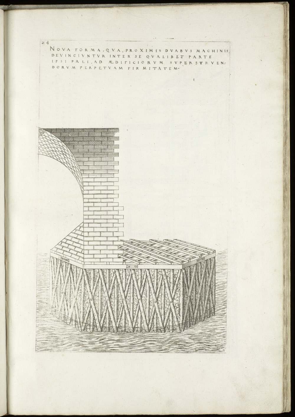 Plate 24 [Bridge piling],  Image number:SIL4-2-81a