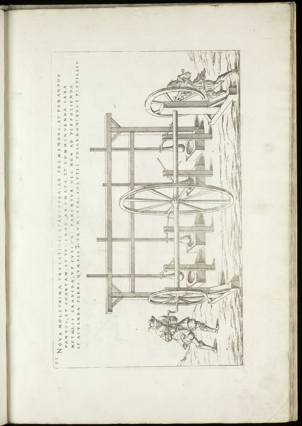 Plate 25 [Hand-cranked crushing mill],  Image number:SIL4-2-83a