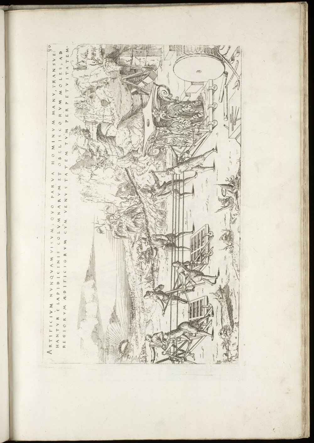 Plate 30 [Hauling heavy objects],  Image number:SIL4-2-93a