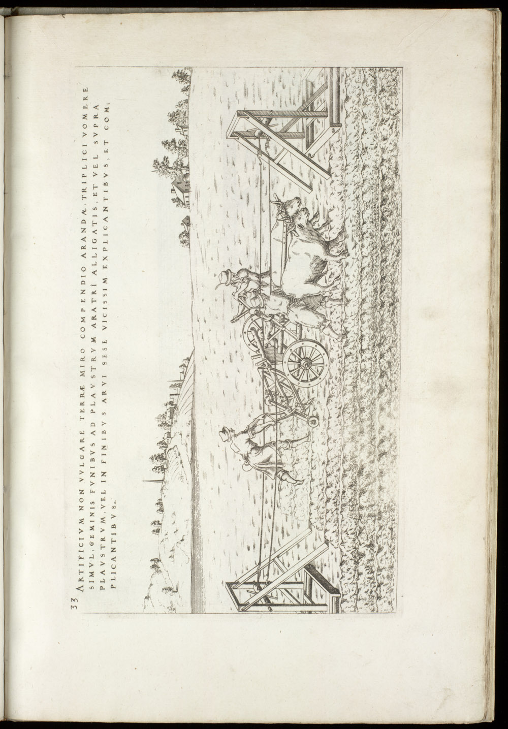 Plate 33 [Three-tiller plow],  Image number:SIL4-2-99a