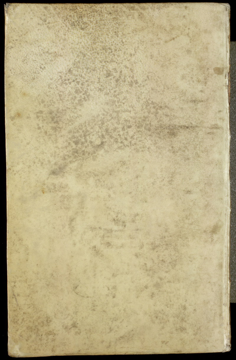 Vellum bound back cover,  Image number:sil4-3-116a