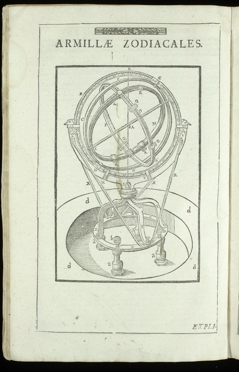 Zodiacal armillary instrument,  Image number:sil4-3-42a
