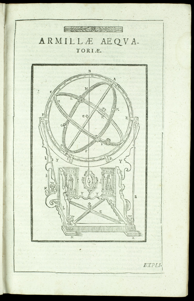 Equatorial armillary instrument,  Image number:sil4-3-45a