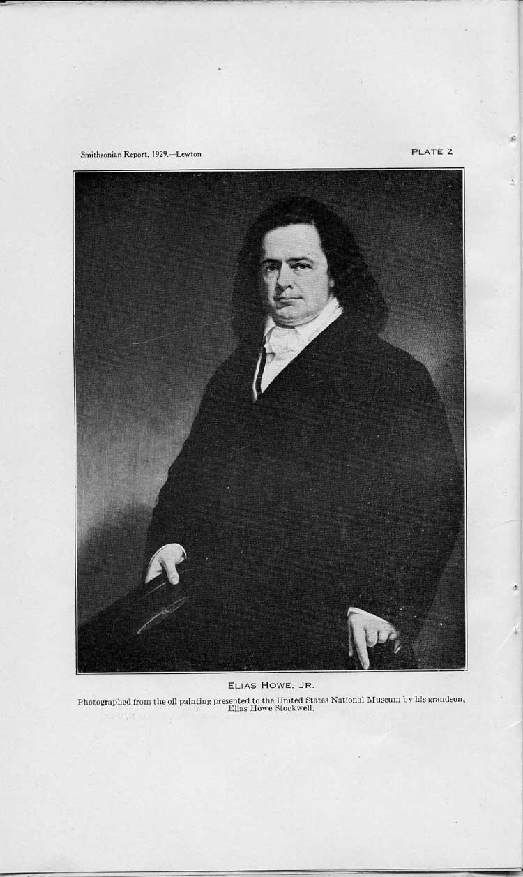 Plate 2: Elias Howe, Jr.,  Image number:sil10-4962-29a