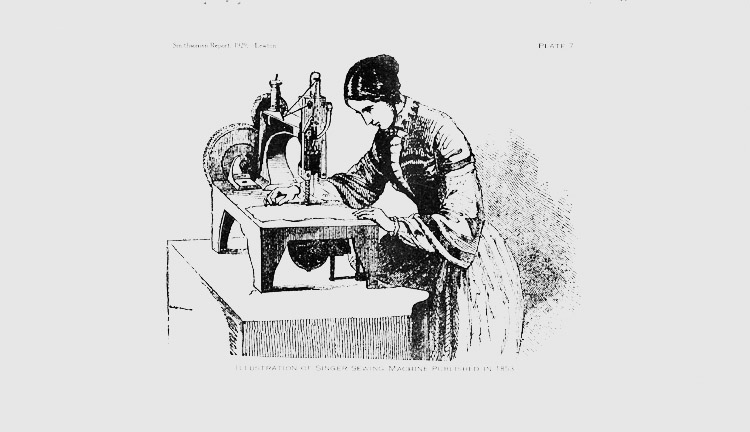 the origin and history of the sewing machine Making history since 1689  husqvarna was founded as a royal arms factory   introduction of the oscillating bobbin - the sewing machine for families and.