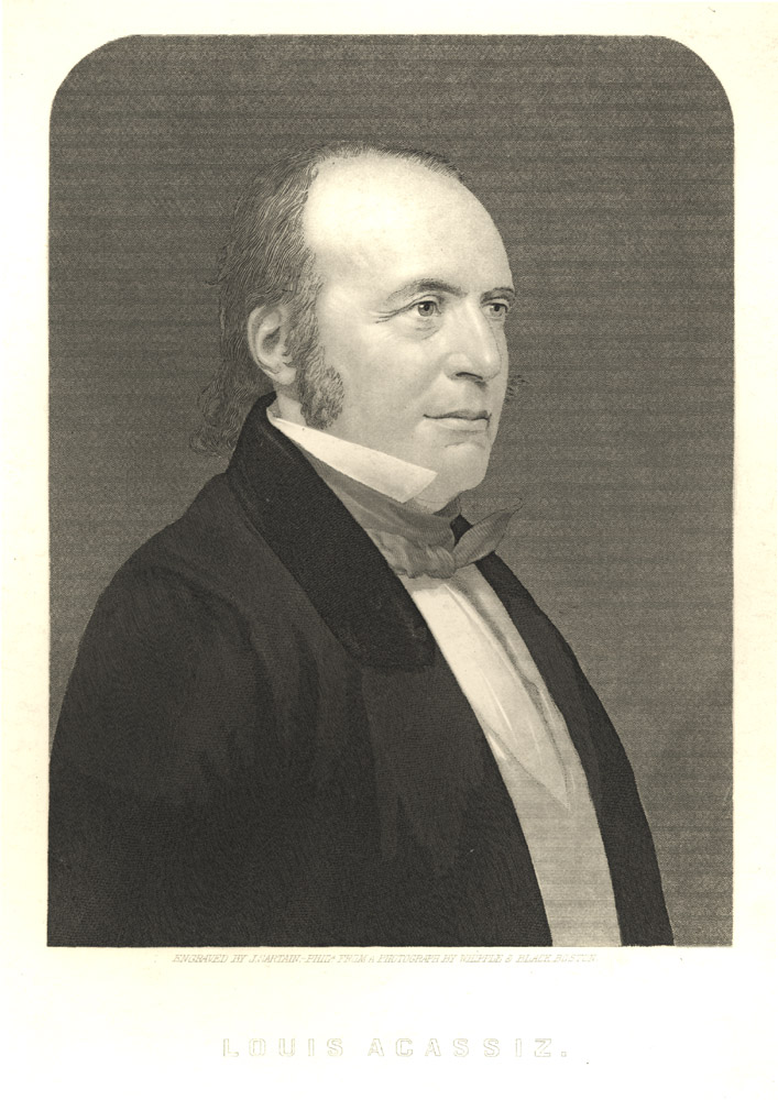 Portrait of Louis Agassiz,  Image number:SIL14-A1-05a