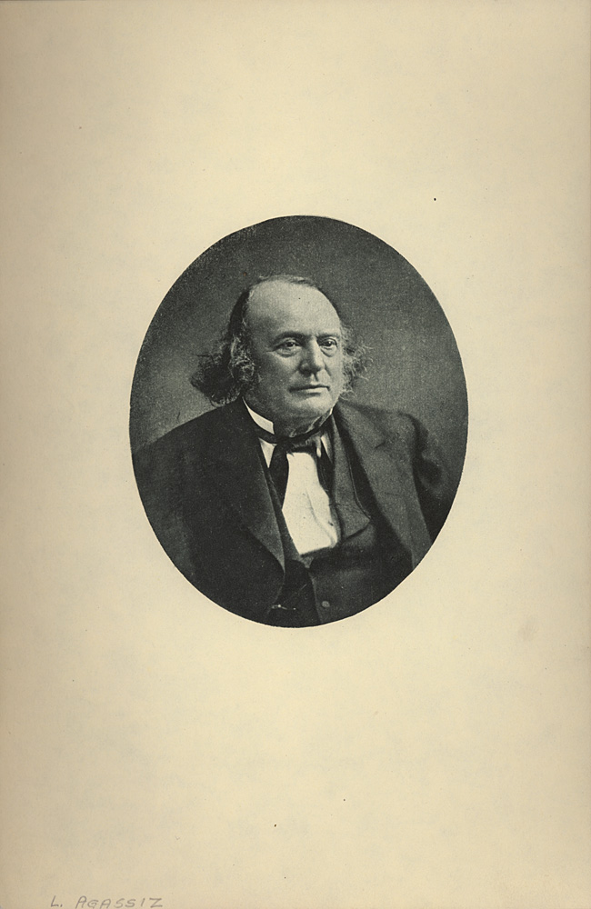 Portrait of Louis Agassiz,  Image number:SIL14-A1-06a