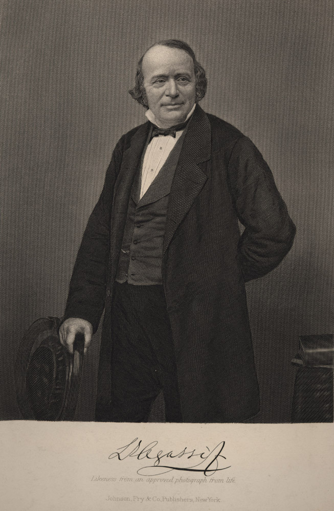 Portrait of Louis Agassiz,  Image number:SIL14-A1-07a