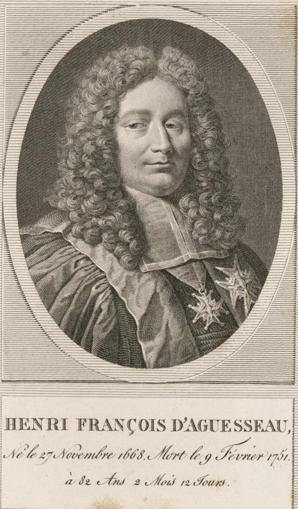 Portrait of Henri Francois d'Aguesseau,  Image number:SIL14-A1-09a