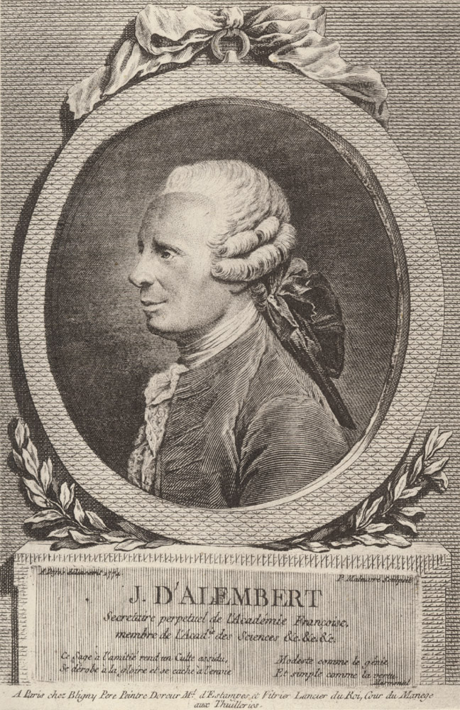 Portrait of Jean le Rond d'Alembert,  Image number:SIL14-A3-04a