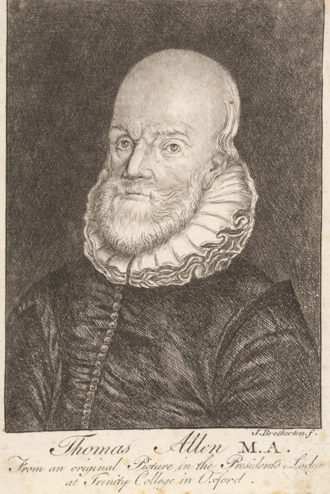 Portrait of Thomas Allen,  Image number:SIL14-A3-06a