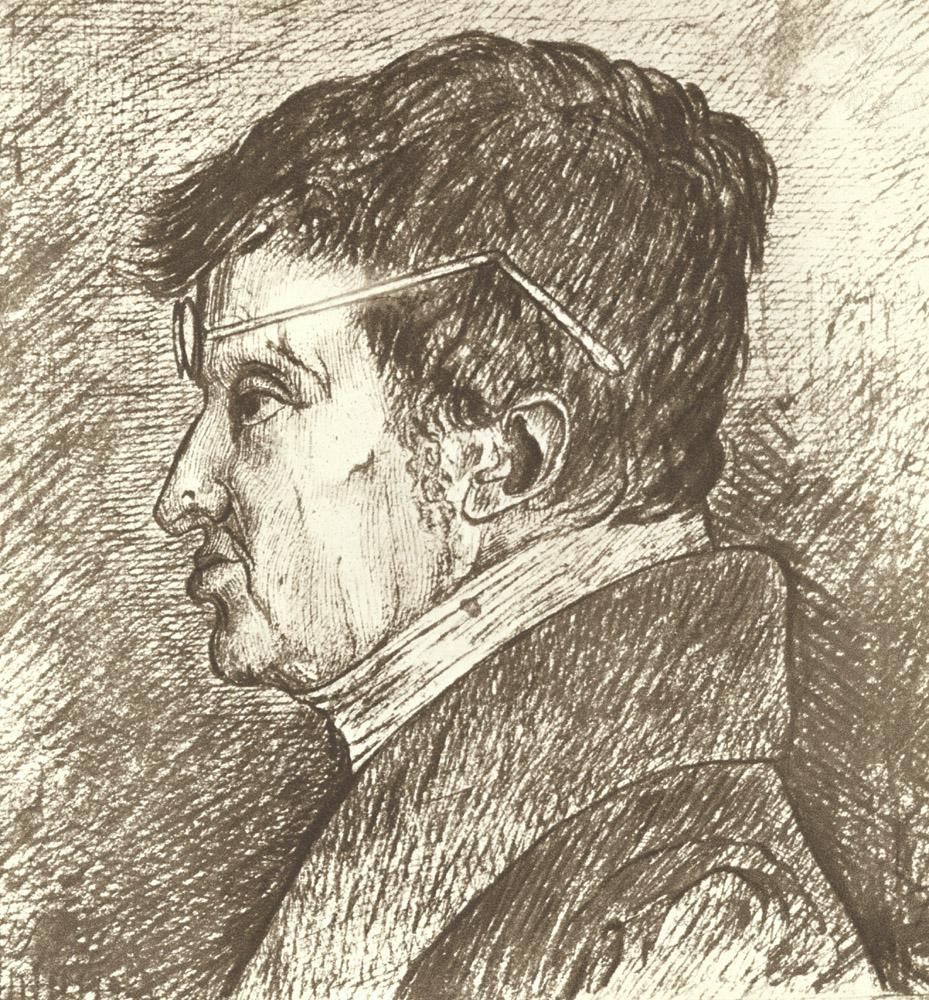 Portrait of André-Marie Ampère,  Image number:SIL14-A4-03a