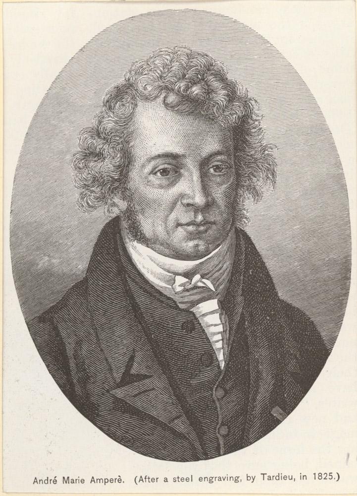 Portrait of André-Marie Ampère,  Image number:SIL14-A4-04a