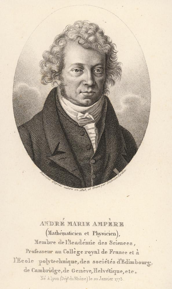 Portrait of André-Marie Ampère,  Image number:SIL14-A4-05a
