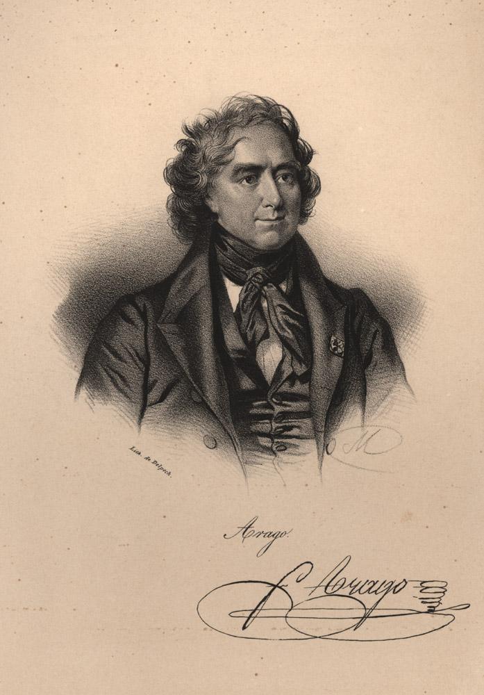 Portrait of François Arago,  Image number:SIL14-A6-01a